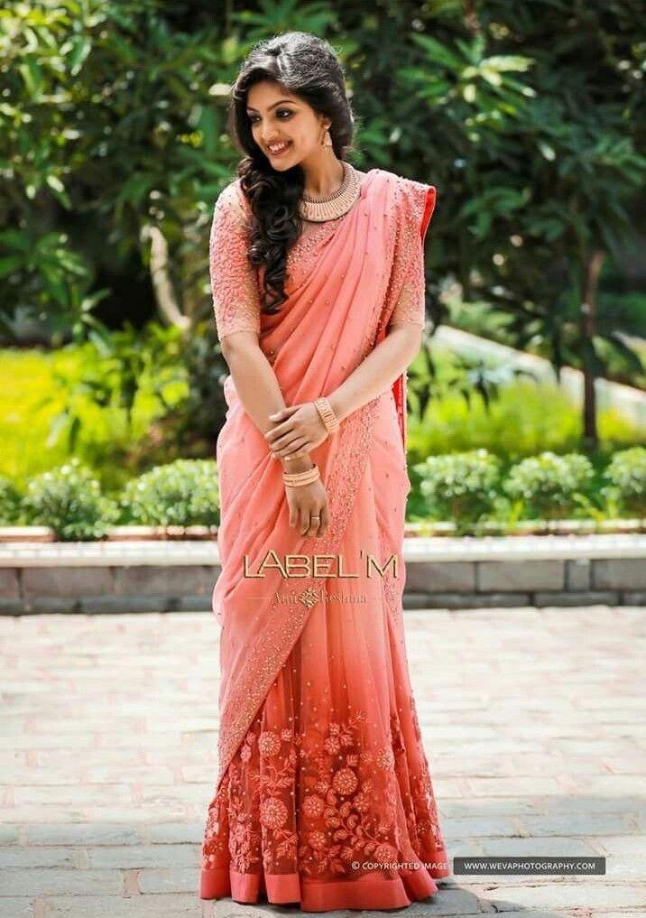 Pin By Sheeju Ef On Bride To Be Saree Lehenga Saree Blouse