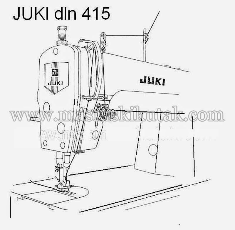 O šivaćim mašinama i strojevima: JUKI - pravilno postavljanje konca