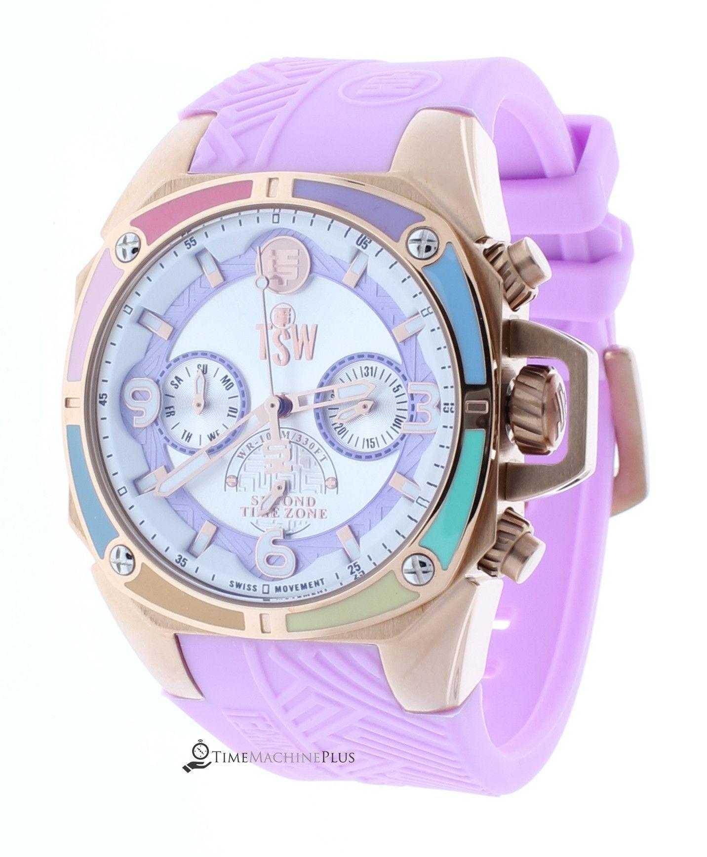 3eb86b547a8d88 Technosport TS-100-LIFES39 Women's Watch Light Pink Strap Swiss  Multifunction Movement