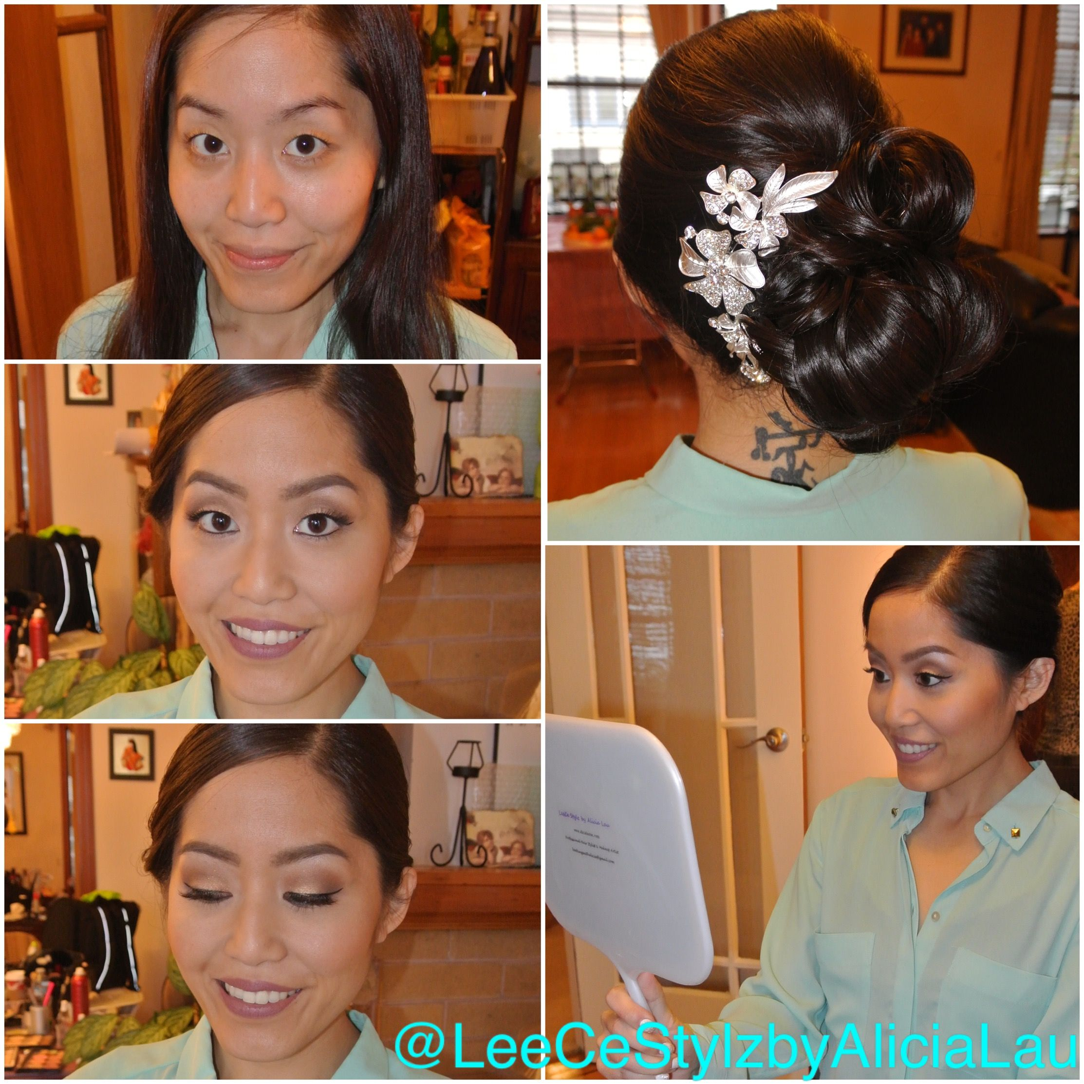 Pin by leece stylz by alicia lau on bridal makeup bridal party