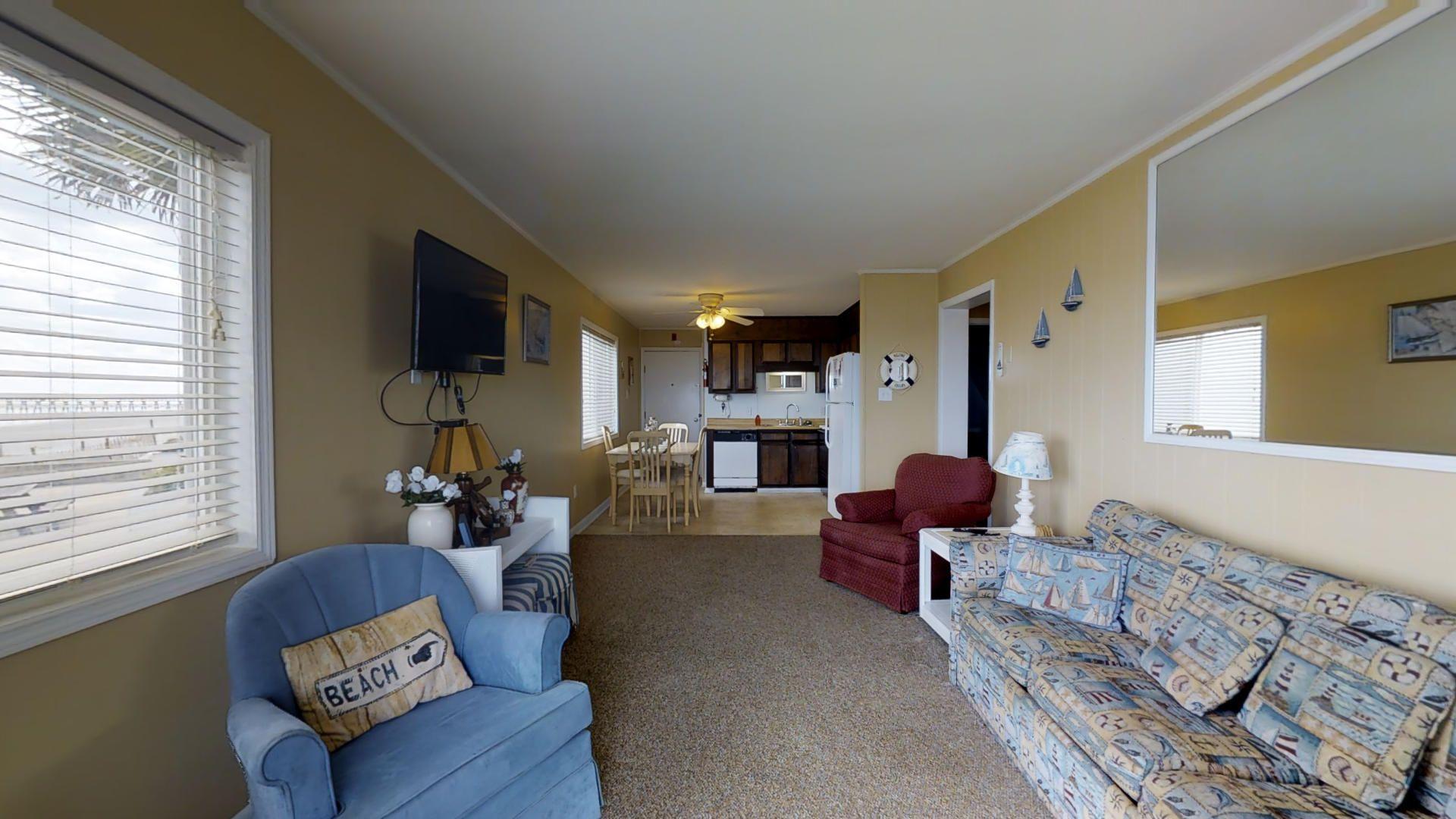 Ocean View Villas B1 Cherry Grove Oceanfront Condo