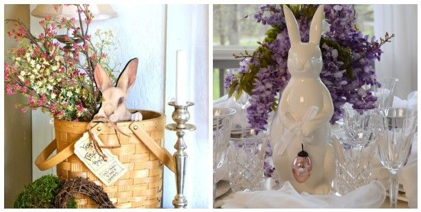 Spring Decorations For The Home Easter Bunny Decor Ideas