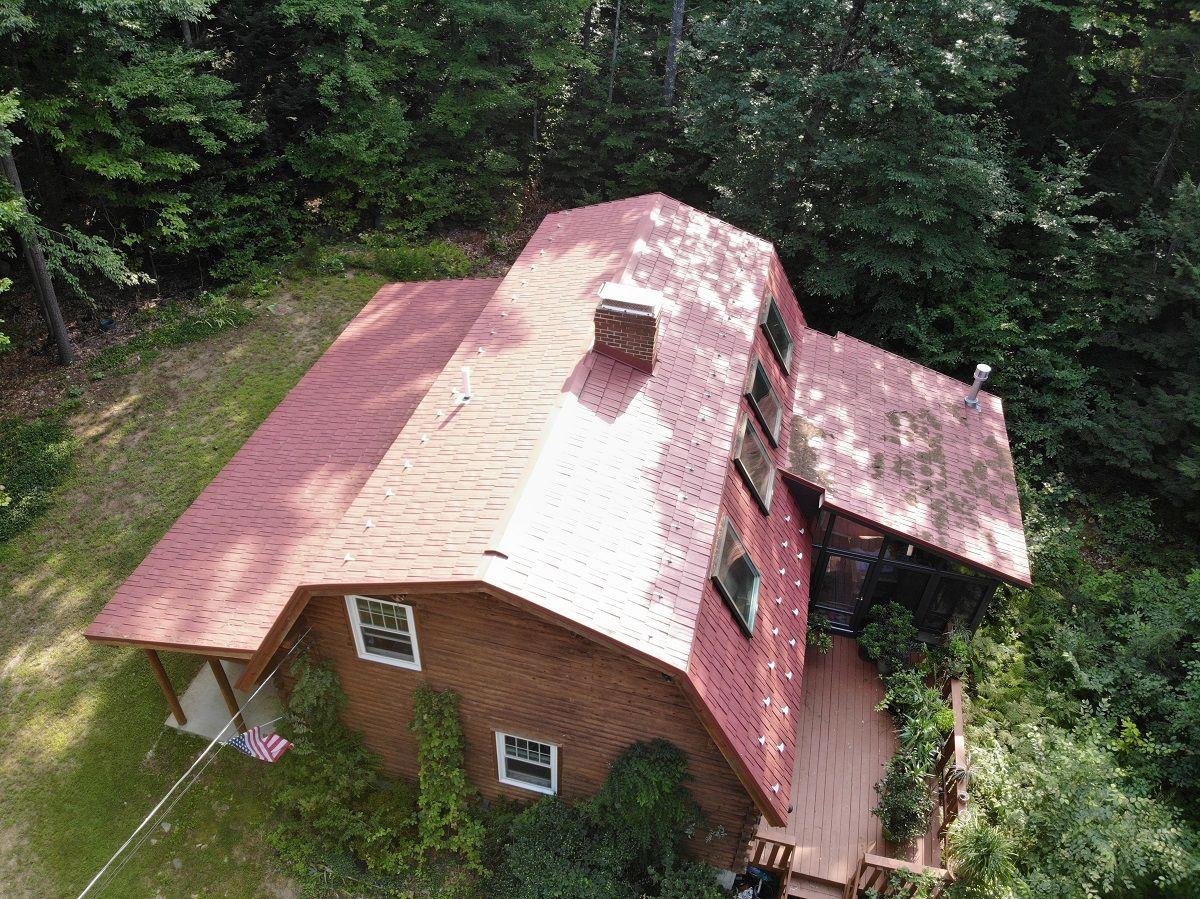 Metal Roofing Drone Videos Classic Metal Roofs Llc Roofing Metal Roof Asphalt Roof