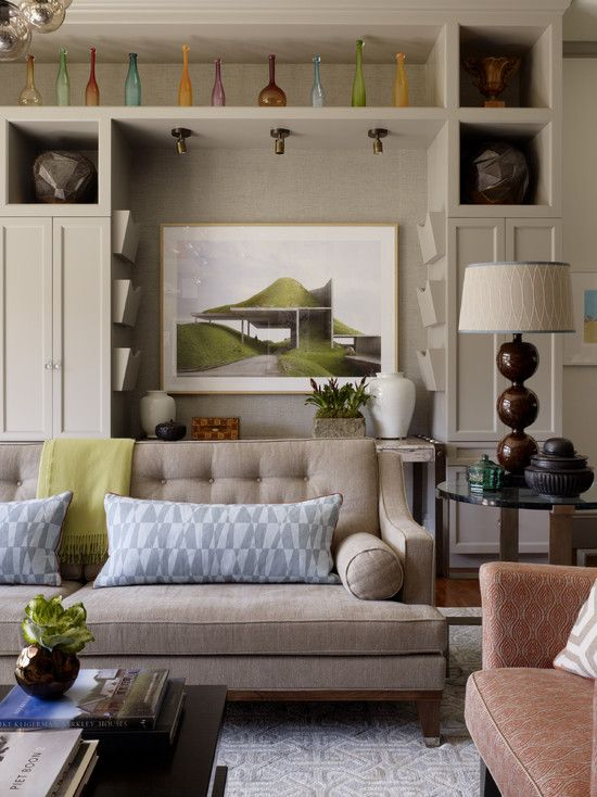 Family Room Design, Pictures, Remodel, Decor and Ideas - page 6 Love the sofa & the lamp.