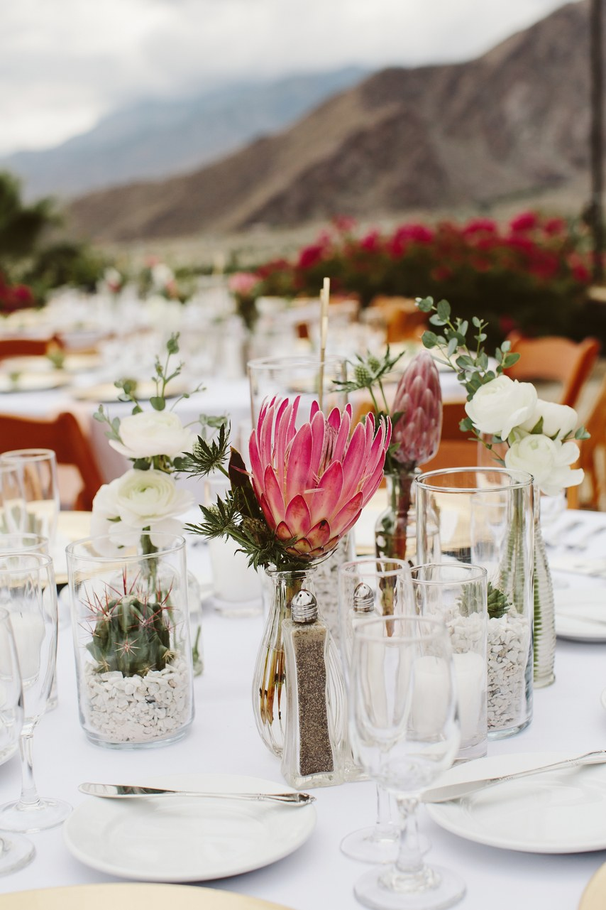 A Colorful Laid Back Wedding In The Hills Above Palm Springs Palm Springs Wedding Desert Wedding Summer Camp Wedding