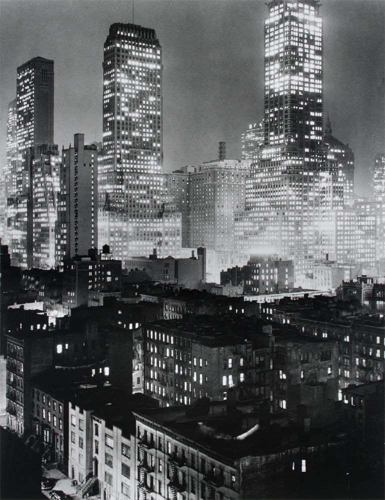 Midtown Manhattan by Andreas Feininger, 1942