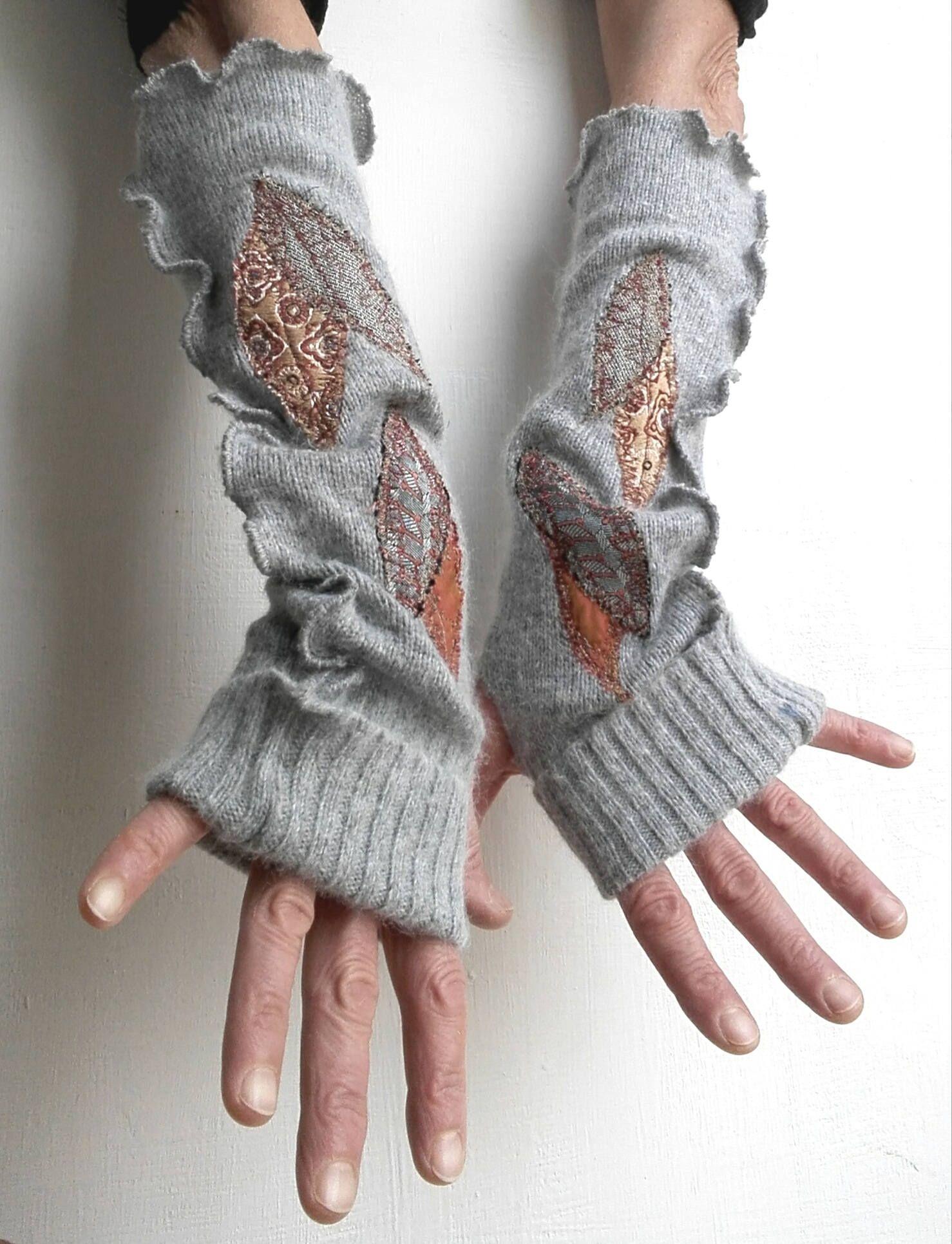 originale buona qualità sconto del 50 Scalda braccia,pura lana,upcycled clothing,stoffa riciclata ...