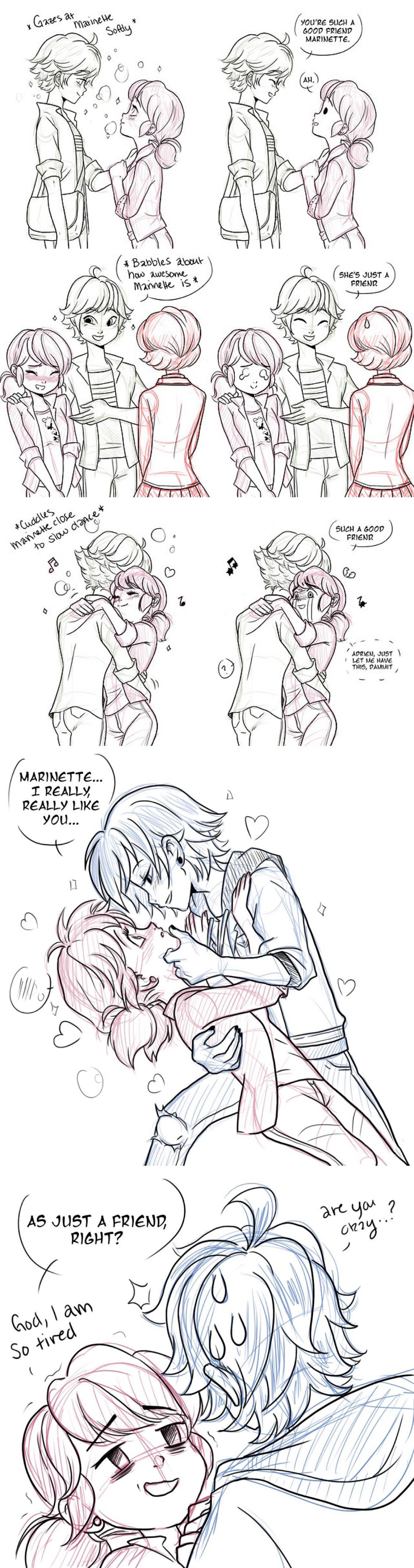 Z O E The Toll Of Constantly Getting Mixed Signals Is Miraculous Ladybug Comic Miraculous Ladybug Memes Miraculous Ladybug Funny