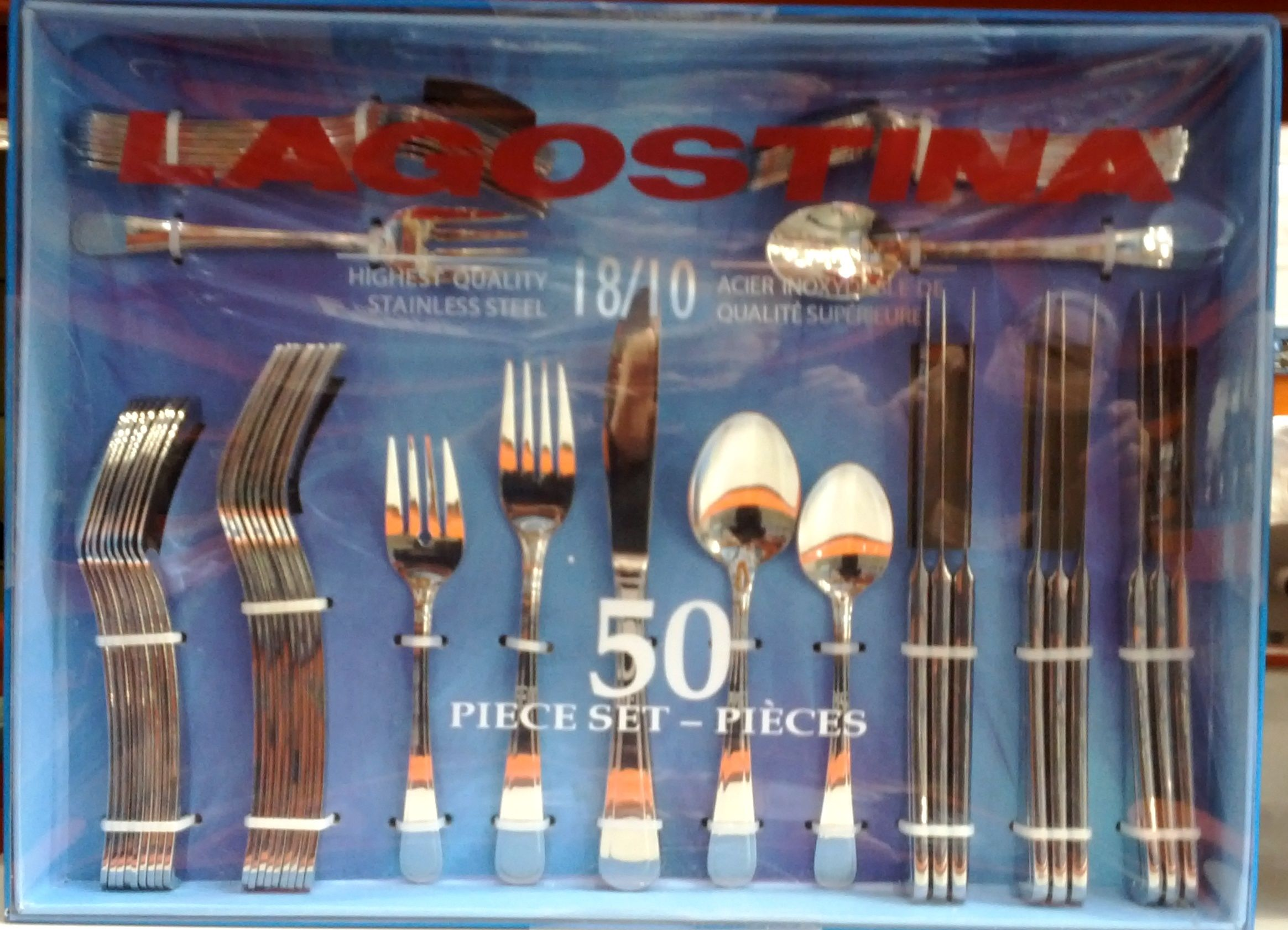 Lagostina Marina Cutlery Set From Costco It S Cheap It S
