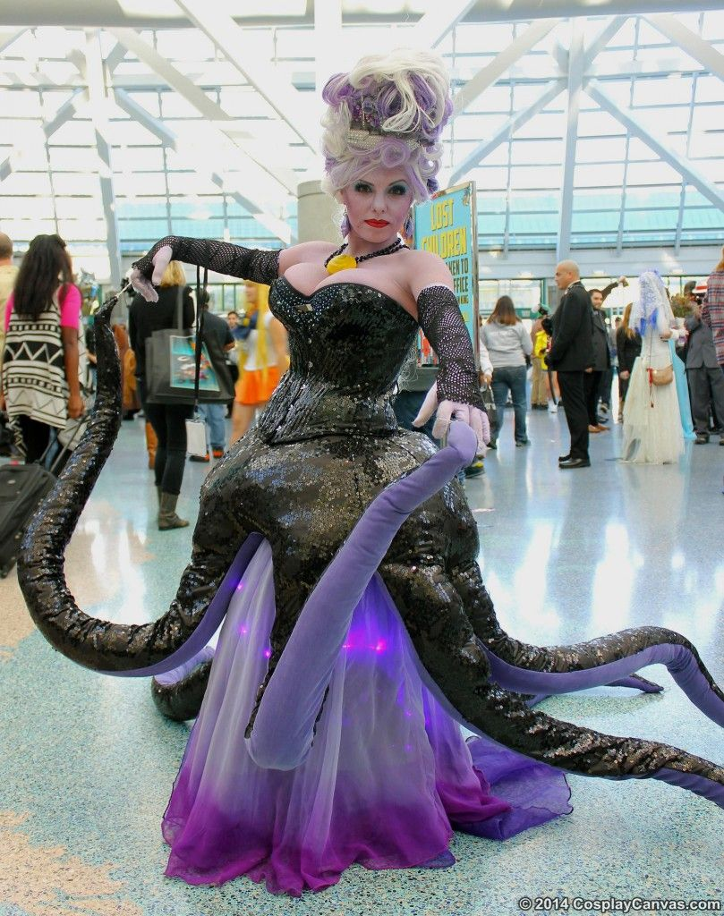 ursula the sea witch costume - Google Search | Disney Cosplay ...