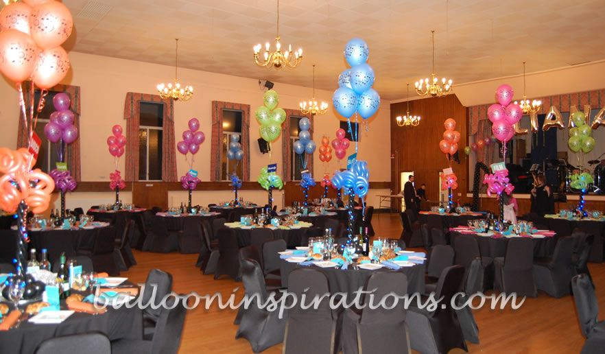 Music Themed Party Decorations Ideas Part - 26: Delightful Balloon Decorations Featuring Music Themed Balloons And Balloon  Sculptures.