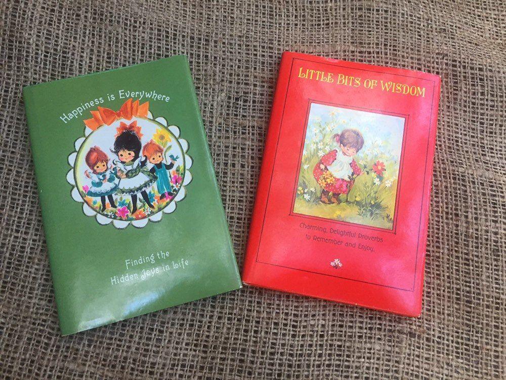 2 vintage Dean Walley Hallmark books 1967 Books, Vintage