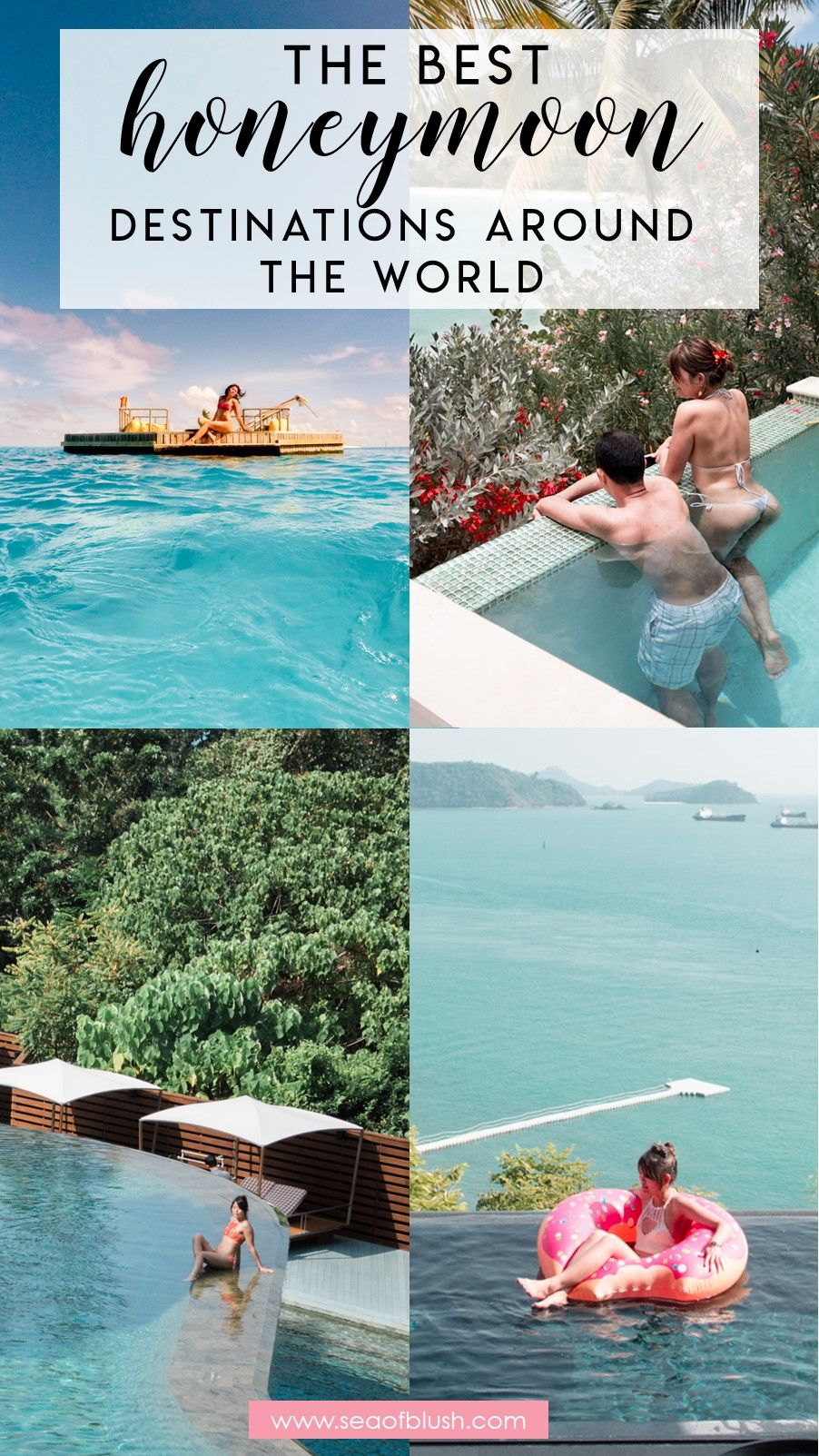 The Best Luxury Honeymoon Beach Resorts Around The World