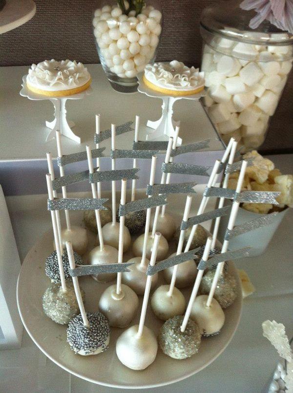 White And Silver Wedding Via Karas Party Ideas Karaspartyideas