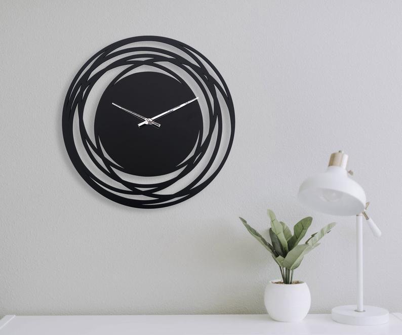Wall Clock Modern Wooden Clock For Wall Kitchen Wall Clock Rustic Wall Clock Wall Clock Unique Silent Wall Clock Horloge Murale Wanduhr Holz In 2020 Wall Clock Wooden Clock Rustic Wall Clocks