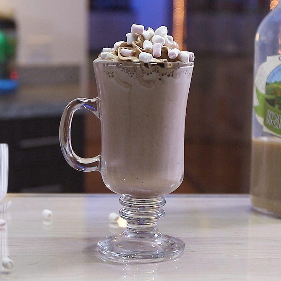 Frozen Irish Cream Hot Chocolate