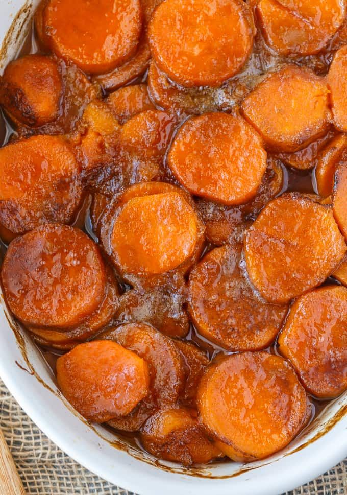 Candied Sweet Potatoes - Simply Stacie