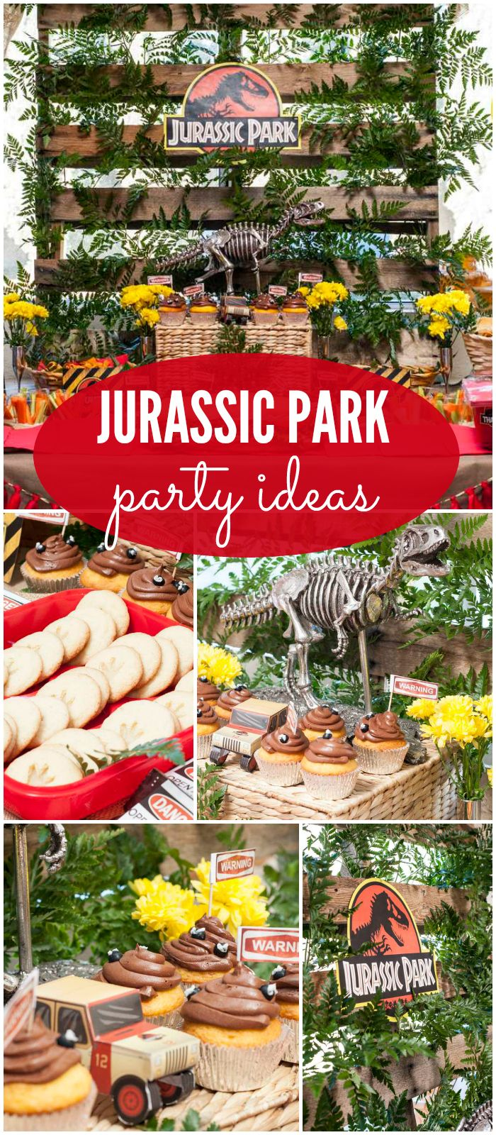 What An Incredible Jurassic Park Birthday Party See More Ideas At CatchMyParty