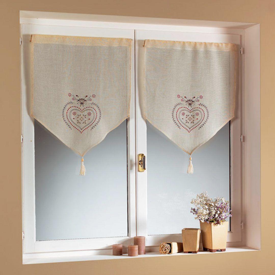 Cortinas de cocina rom nticas las cortinas son un excelente accesorio para las ventanas de la - Cortinas para ventanas pequenas ...