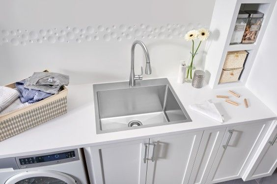 Blanco Quatrus R15 Laundry Sink Topmount Laundry Sink Sink