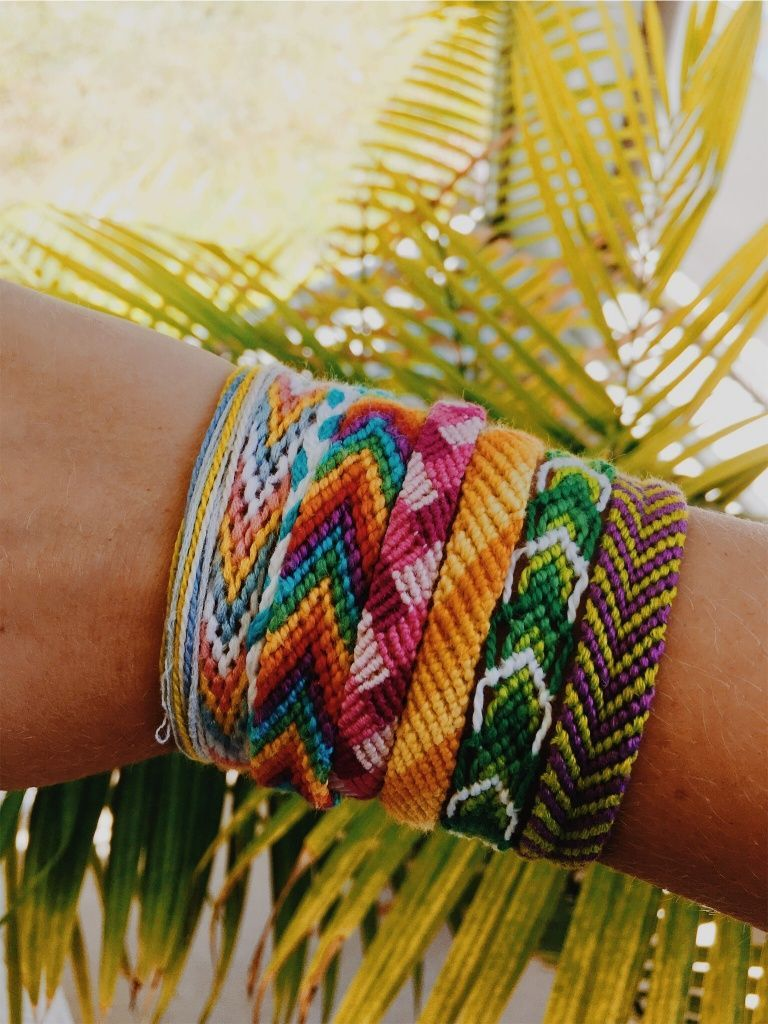 how to make charm bracelets with string