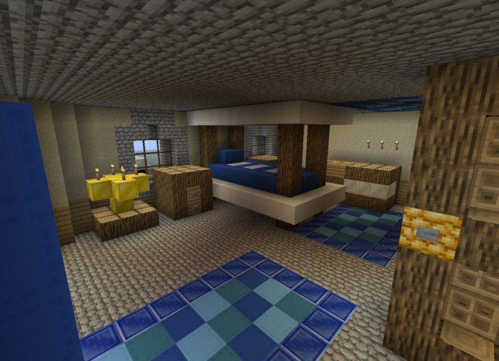 Minecraft Bedroom Design Real Life | Minecraft house ...