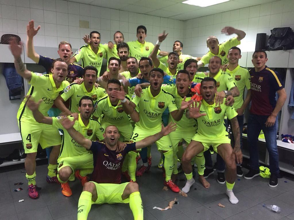 Las imágenes del Atlético de MadridBarcelona