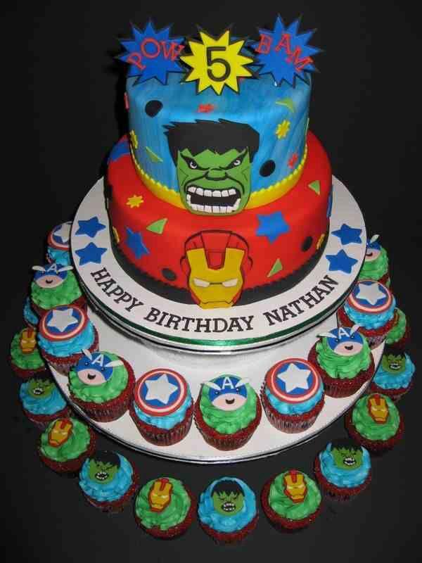 Marvel cake Cakes Pinterest Marvel cake Cake and Celebration