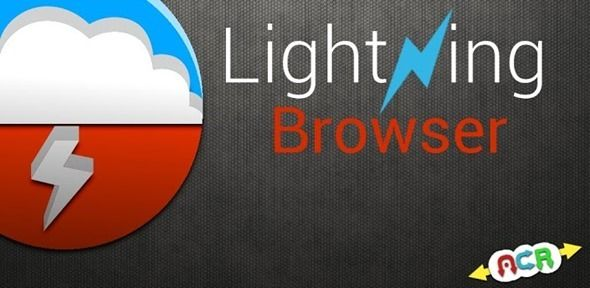 LIGHTNING BROWSER FOR ANDROID IS AN EFFICIENT, LIGHTWEIGHT