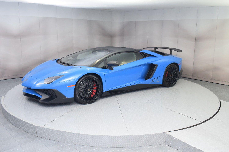 2017 Lamborghini Aventador Roadster in Blue LeMans in ...