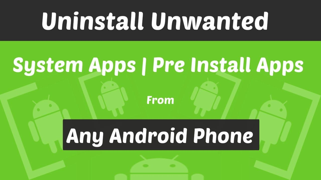 How to Delete Preinstalled Apps on Android [Try These 4