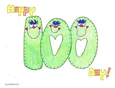 Free 85-page booklet filled with a little bit of everything for your 100 Day celebration!