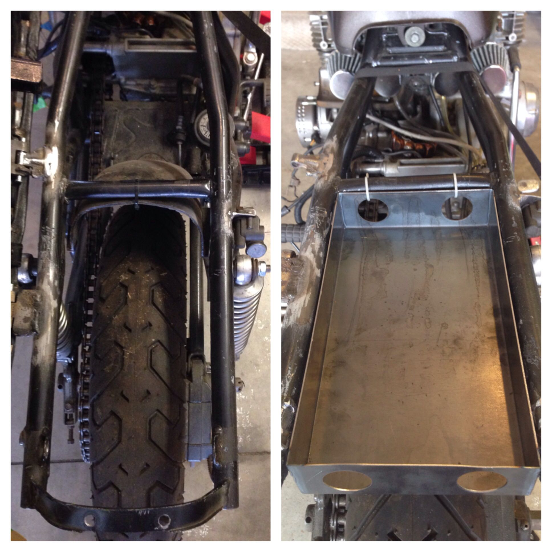 Before And After Of My Custom Battery Box For The Antigravity 8 Cell Wiring Harness Bmw K100lt Lithium