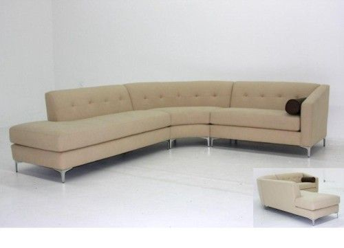 Singapore Sectional With Rounded Corner 1500