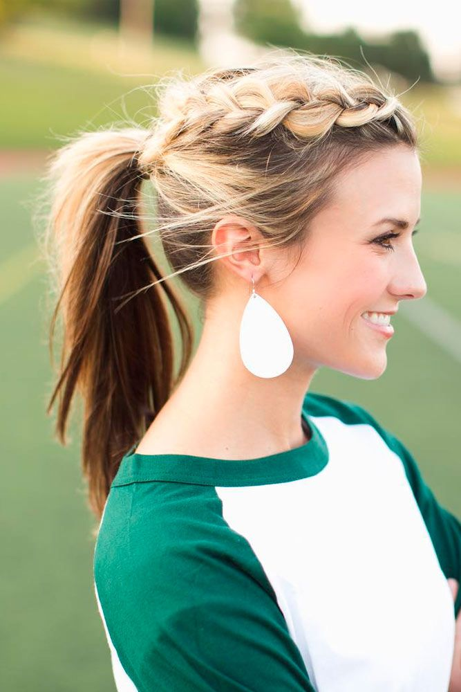 100 Different Ponytail Hairstyles To Fit All Moods And Occasions Sporty Ponytail Ponytail Hairstyles Braided Ponytail Hairstyles