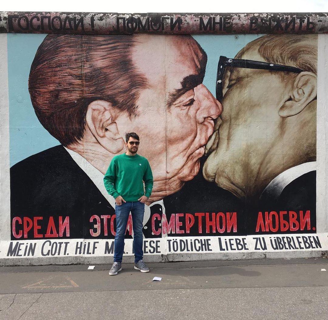 Bruderkuss Memory Brother Forever Berlin Wall Berlin Wall Memories Brother
