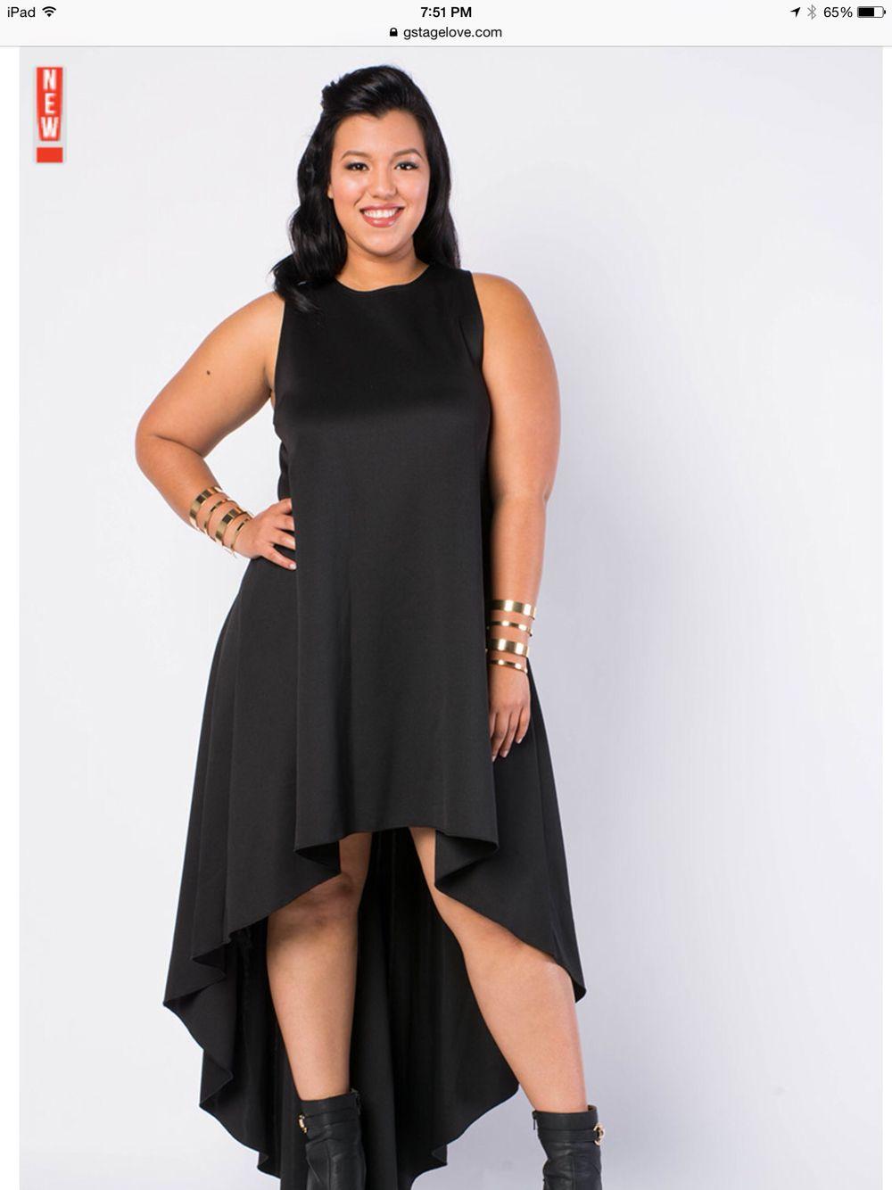 gstagelove plus size high low maxi dress | fashion | pinterest