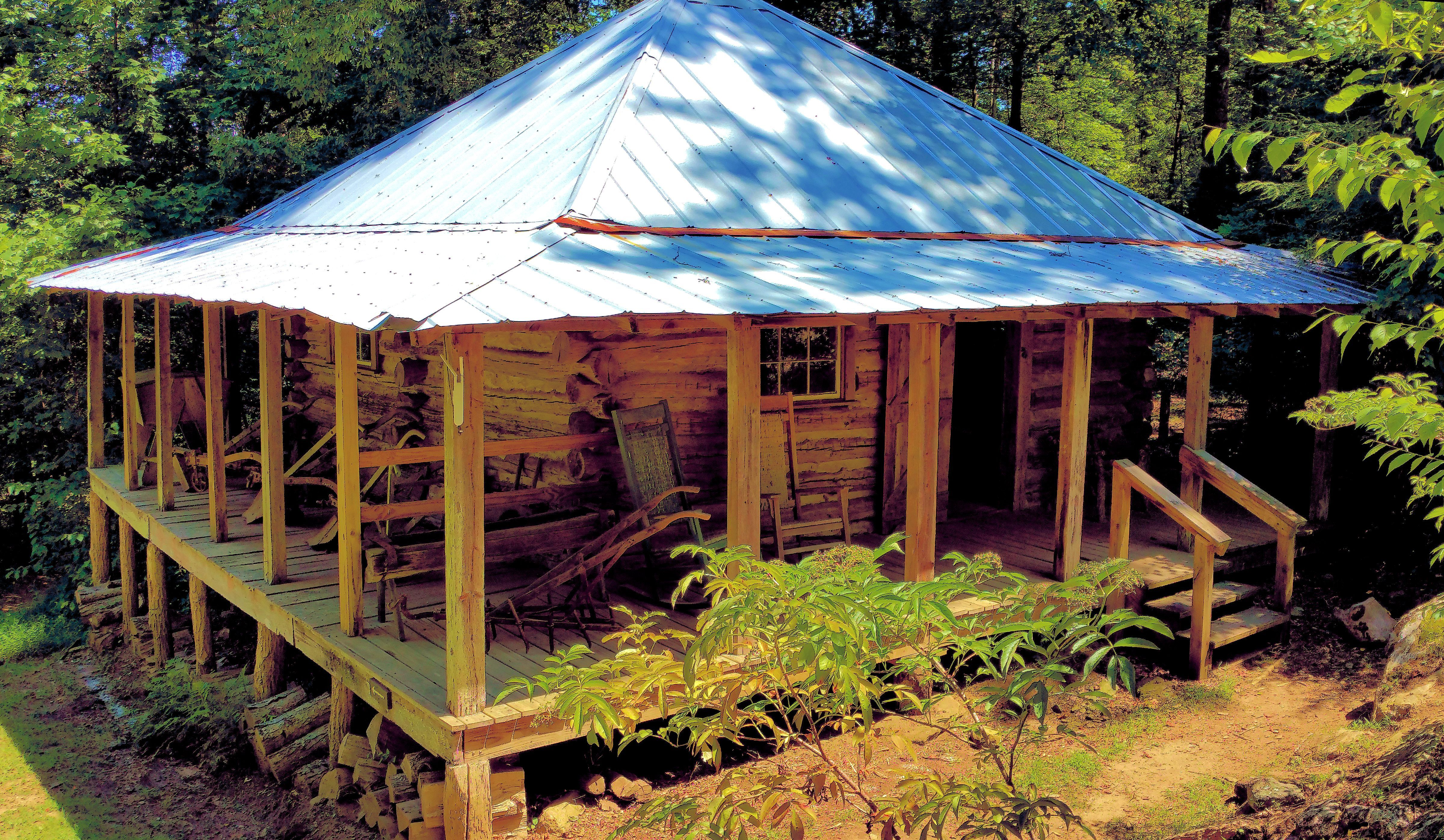 The Bungalow Cabin Was Originally Built As A Barn By Fred Moffitt