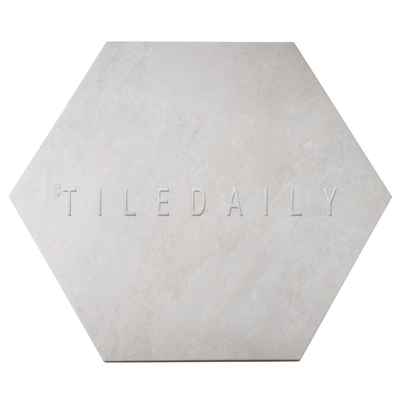 Large Hexagon Porcelain Tile 4 Colors