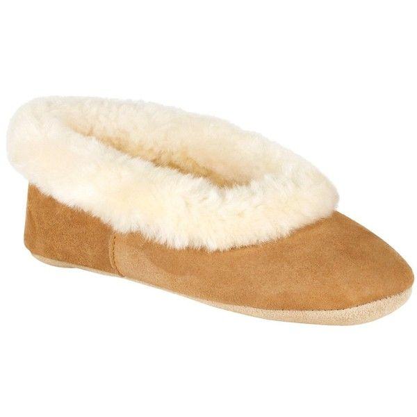 Just Sheepskin Queen Slippers, Chestnut