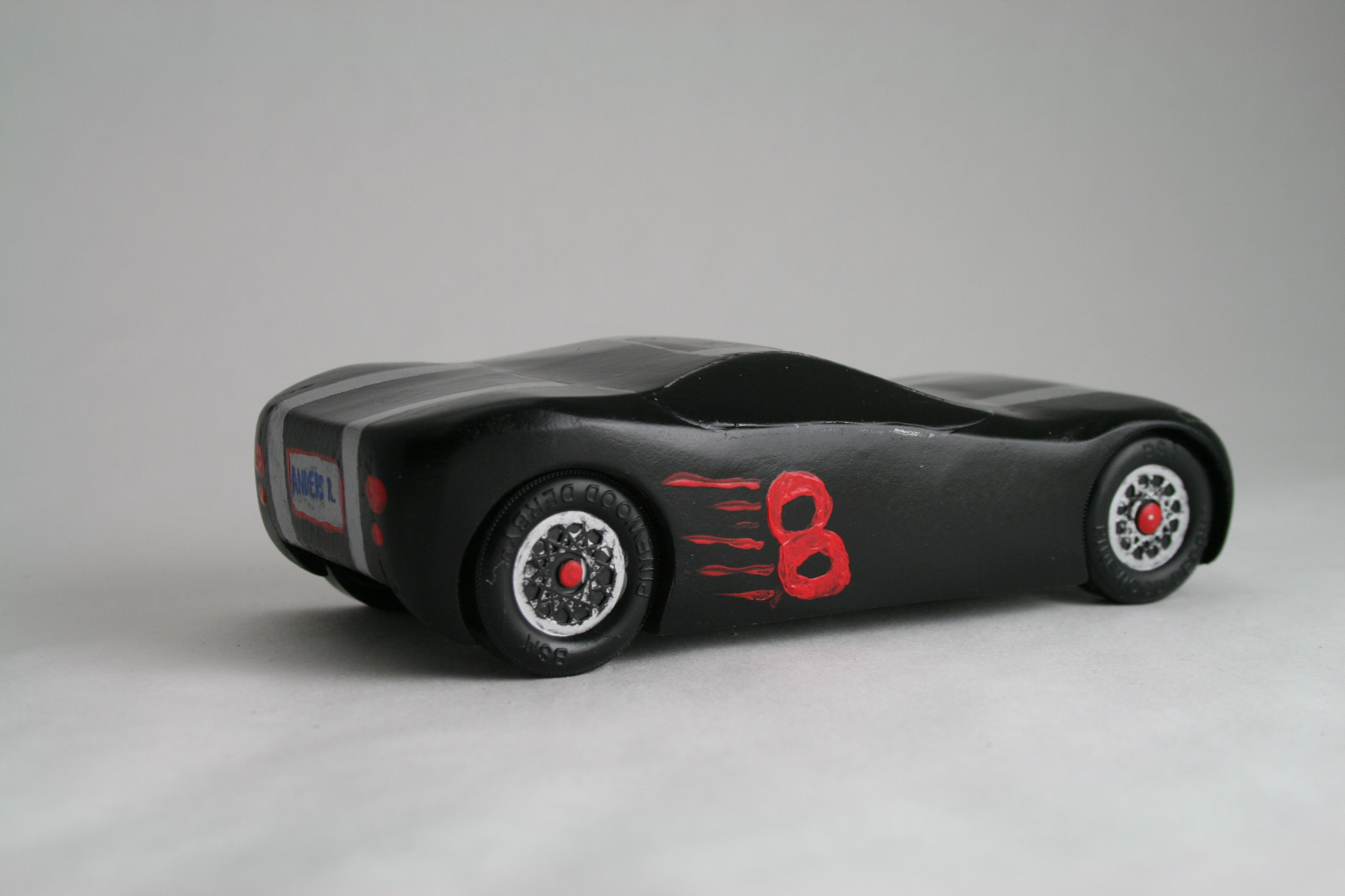 The sportiest pinewood derby car around. | Woodworking | Pinterest ...