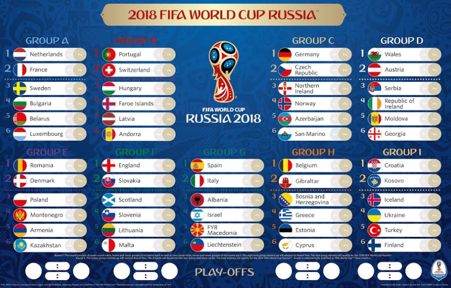 Image Result For Fifa 2018 Malaysia Time Fifa World Cup World Cup World Cup Russia 2018
