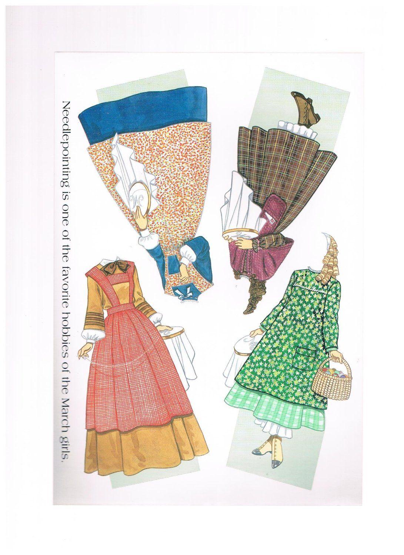Amazon Little Women Paper Dolls Everything Else