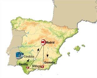 VIAJE POR ANDALUCÍA: Circuitos por España | Viajes por España | Viajar por Andalucía | Circuitos de viajes por andalucía en autobús.
