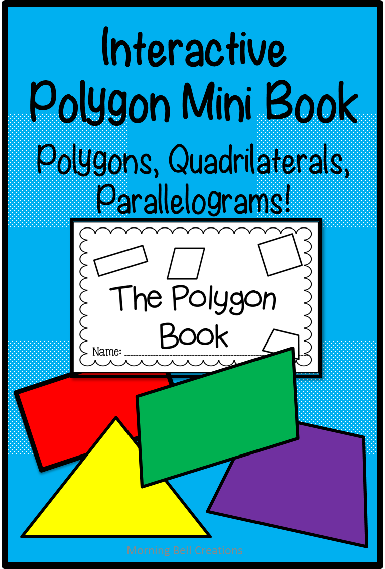 Interactive Polygon Mini Book: Polygons, Parallelograms ...