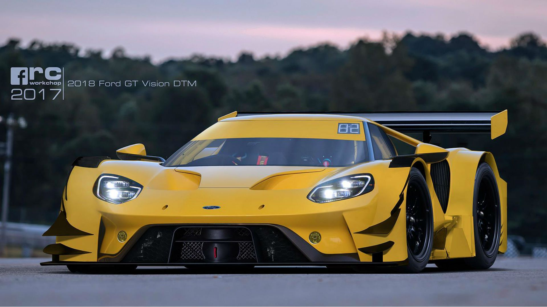 The  Ford Gt Looks Wicked When Reimagined As A Dtm Racer The Drive