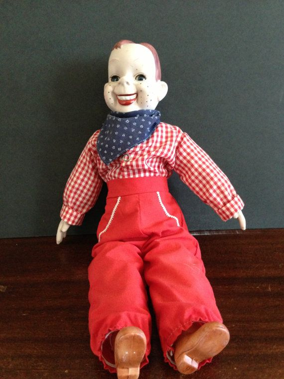 Vintage Howdy Doody Doll with Porceliain by PastThymesAntiques, $55.00