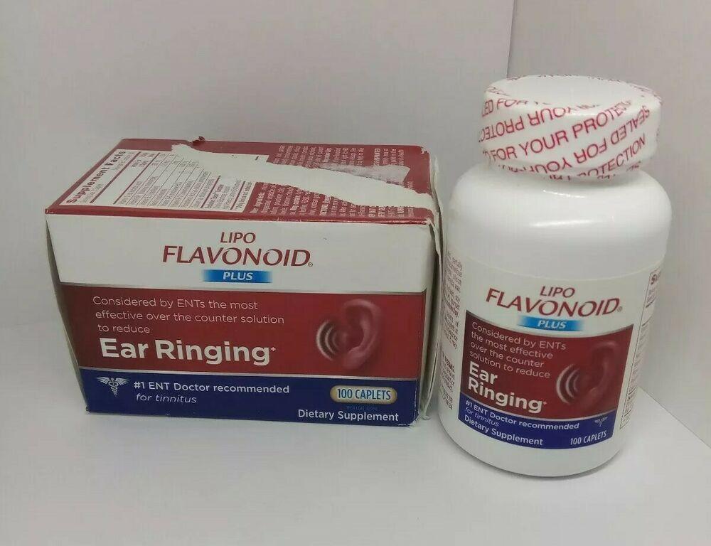Lipo Flavonoid Plus Ear Ringing Tinnitus Relief 100 Caplet Safety