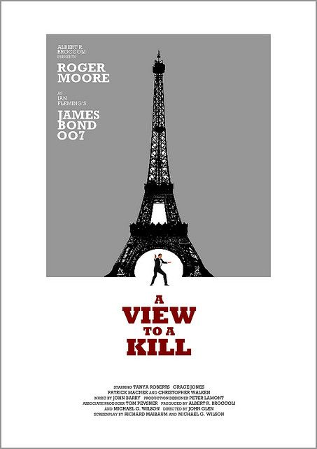 A View To A Kill James Bond Movies James Bond Bond