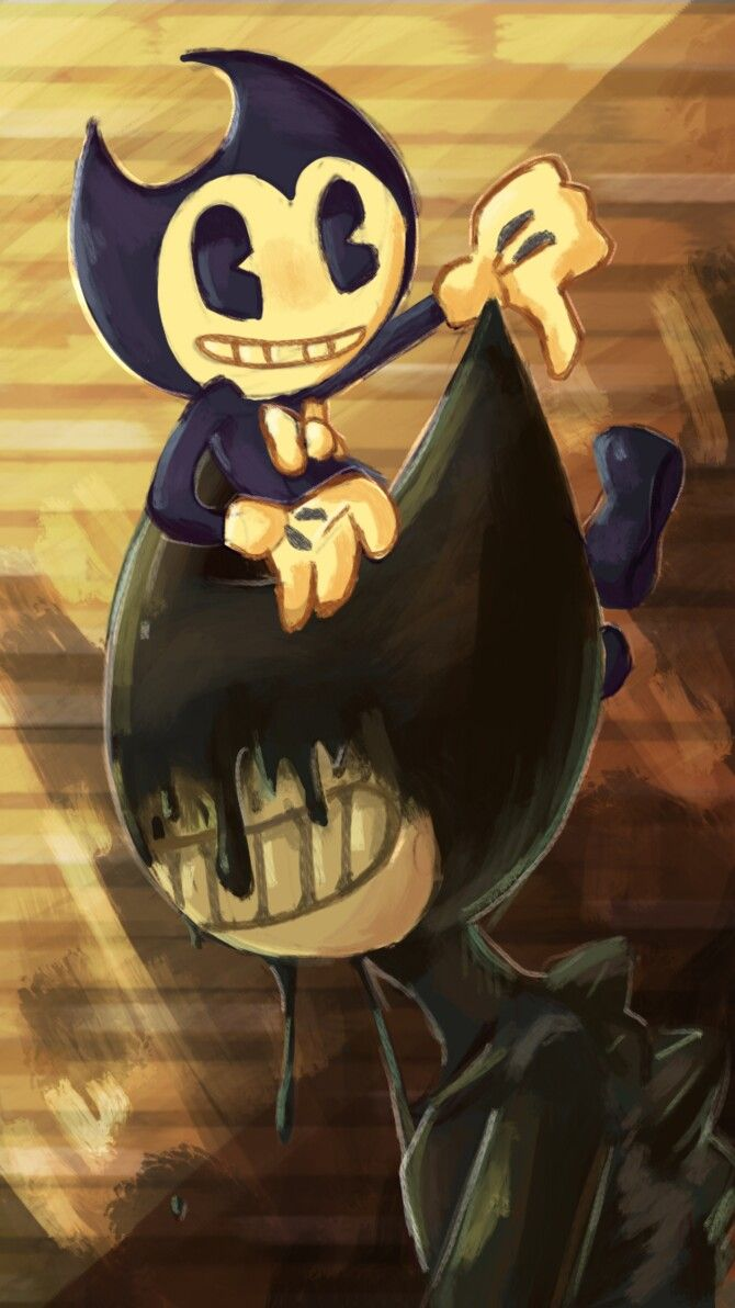 Chibi Ink And Machine Bendy Art